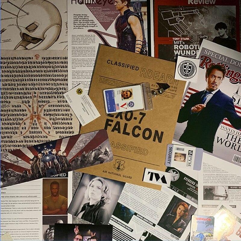 Серия супергероев, архивы Наташа романоу, косплей-файл Aegis, папка, частный файл, папка для документов, бумажные изделия/Аксессуары для изгото...