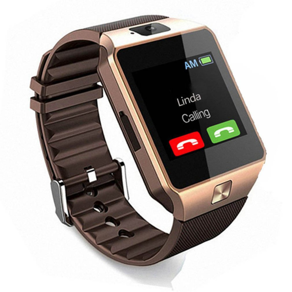 DZ09 inteligente pantalla táctil Bluetooth deporte música llamada Cámara reloj inteligente usable reloj inteligente para IPhone Android