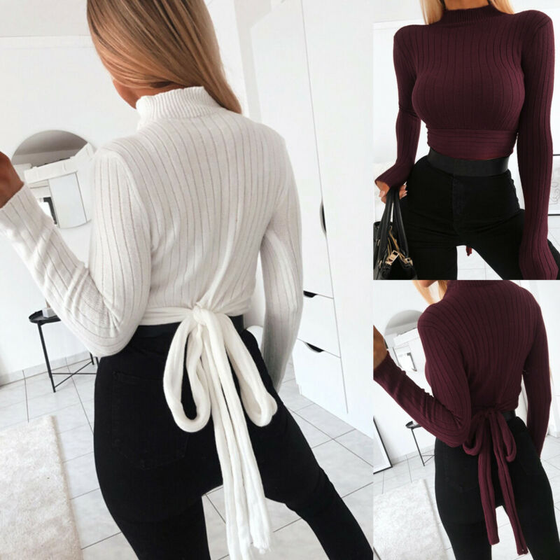 Jersey de manga larga de estilo coreano suave y cálido para mujer, jerséis básicos baratos para niñas, cuello alto, cuello alto para mujer, Invierno