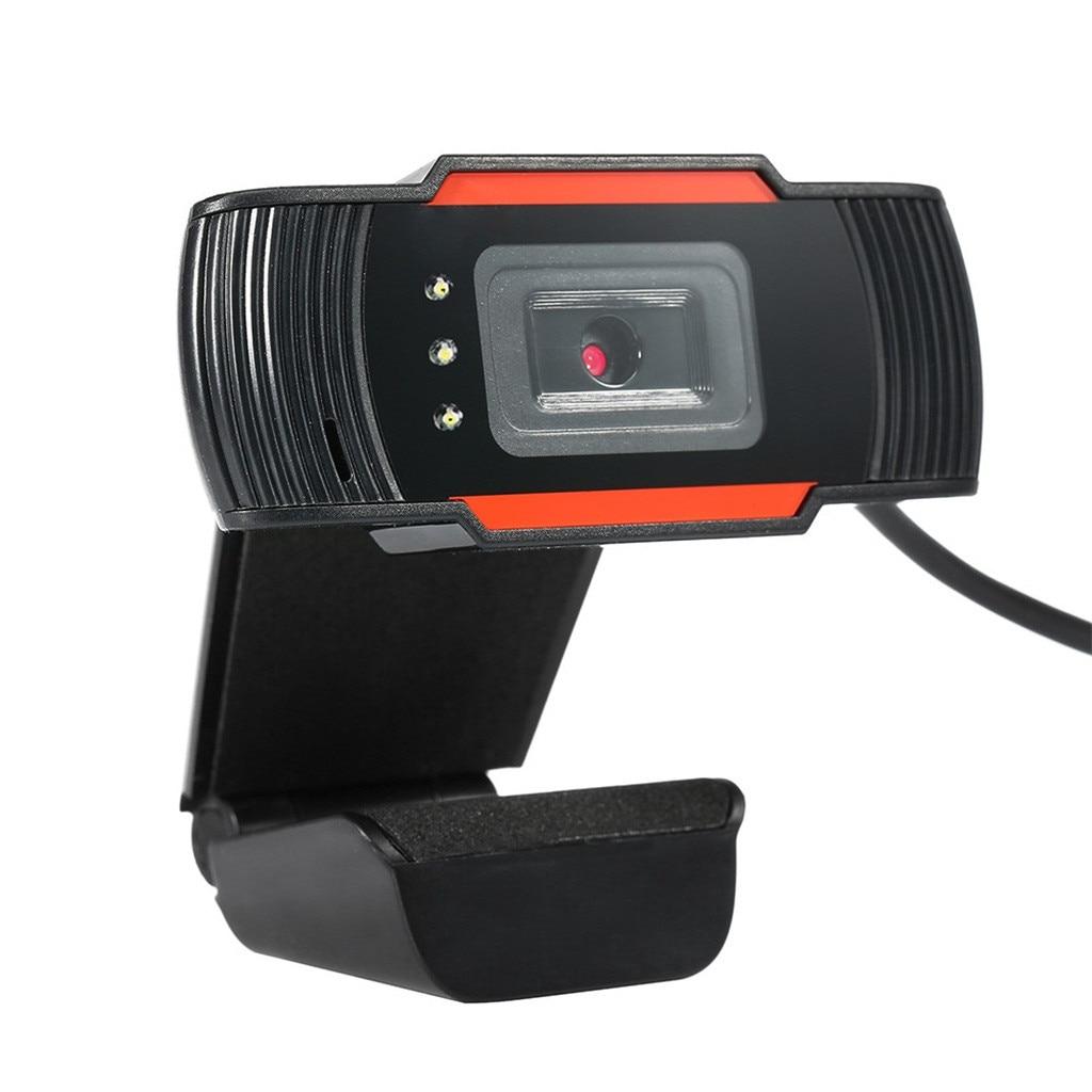Webcam LED, ordenador, ordenador portátil, 12MP, USB 2,0, Webcam 720P, cámara HD con micrófono para cámara Web para PC, portátil, Web Cam #25
