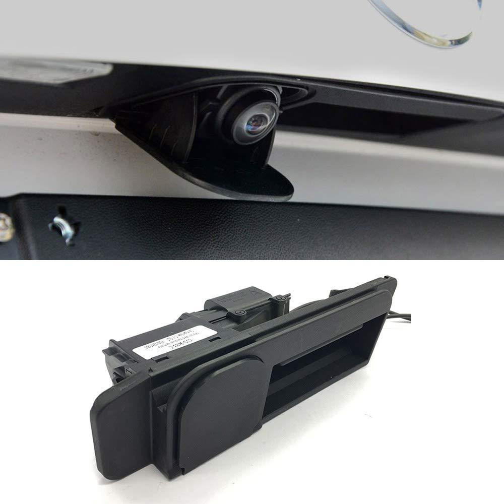 Cámara con emblema giratorio para Mercedes Vito W447 Clase A W176 ML W166 ML300 ML450 ML350 A180 A200 A260 cámara de respaldo de visión trasera
