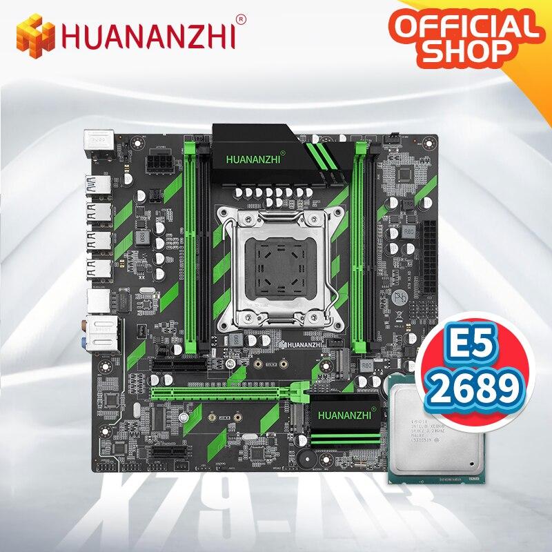 Huanzhi-اللوحة الأم X79 ZD3 X79 مع Intel XEON E5 2689 ، مجموعة التجميع ، SATA ، USB3.0 ، NVME ، NGFF M.2