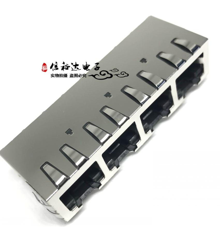 الأصلي جديد 100% SS71800-041F أربعة ميناء 8P8C RJ45 موصل SS71800041F