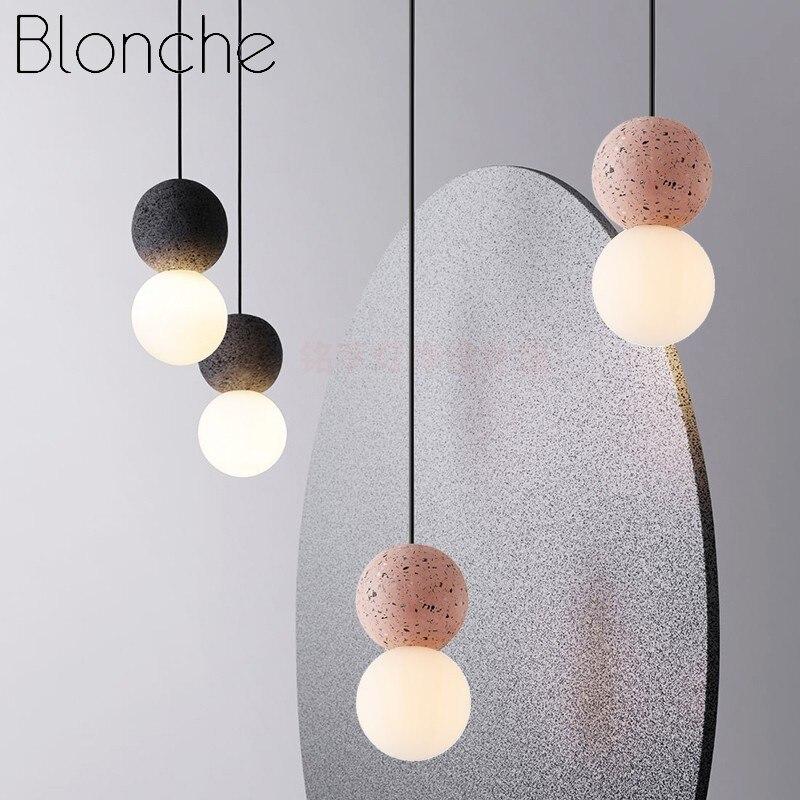 الحديثة قلادة LED أضواء الشمال الزجاج المعيشة غرفة نوم مطعم ديكور مطبخ نجف يُعلق بالسقف تركيبات داخلي تعليق مصابيح