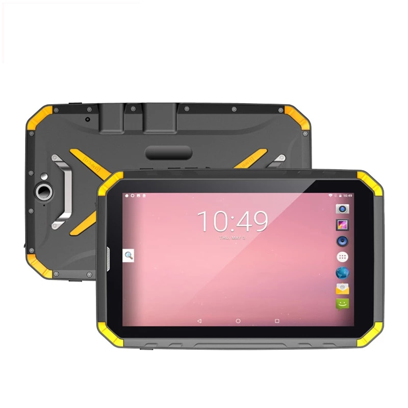 UNIWA T80 Rugged Android Tablet 8.0 Inch IPS 2 in 1 Tablet Phone IP68 Waterproof 4GB 64GB 8500mAh Rugged 4G FDD-LTE Cellphone