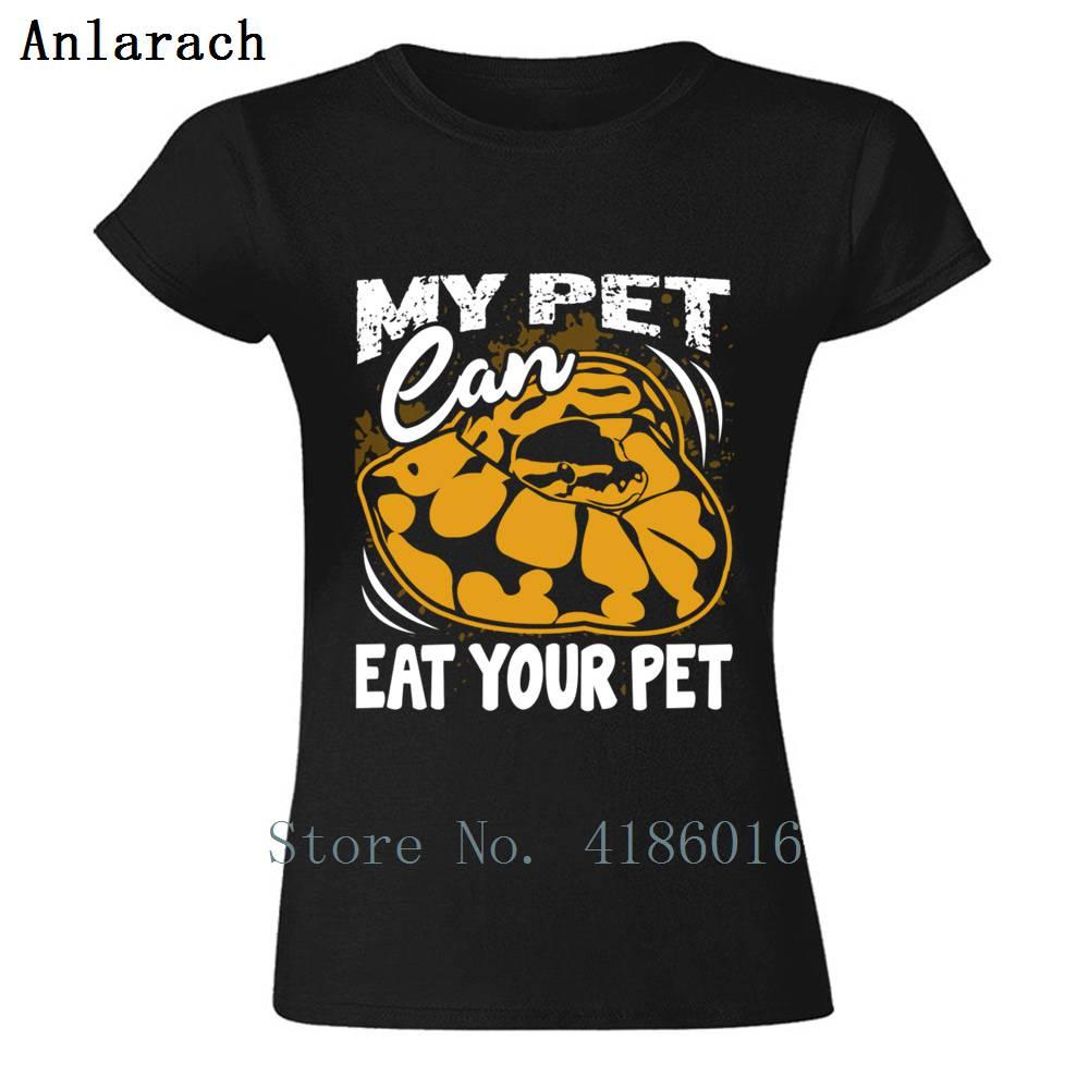 My Pet Can Eat Your Pet Shirt T-Shirt Pop Top Tee Cotton T-Shirt da donna semplice per Designer ultimi abiti novità