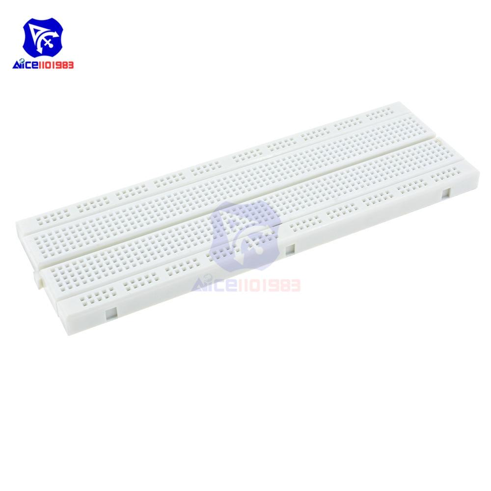 diymore MB-102 Breadboard 830 Point Solderless PCB for Arduino DIY Kit