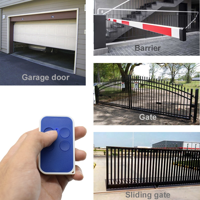 Henderson 880 Deluxe Garage Gate Remote Control 27.045 MHz Cloning Command Transmitter Fixed Code 27.045mhz