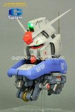 Até 1/35 rx-78 gp-04 g-system peças brancas