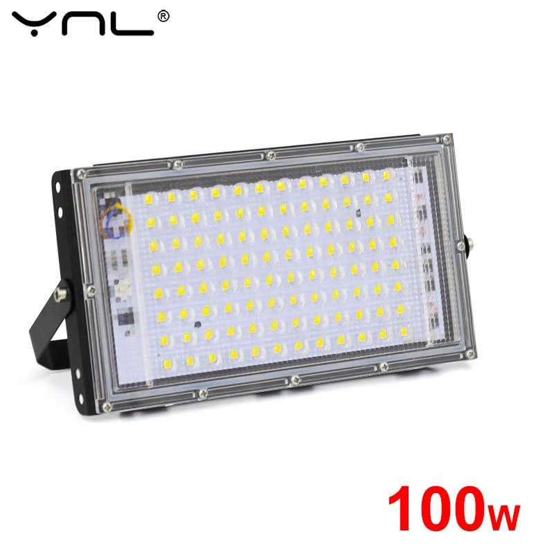 100W LED Floodlight AC 220V 240V Waterproof IP65 Outdoor Projector Flood Light LED Reflector Spotlig