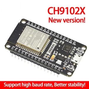 1PCS ESP32 Development Board WiFi+Ultra-Low Power Consumption Dual Core ESP-WROOM-32 CH9102X Similar ESP8266