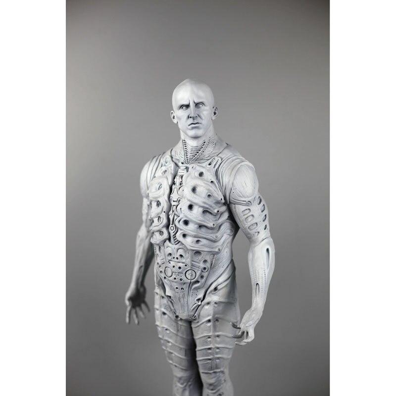 Prometheus Alien Ingenieur Raum Ritter Weiß Modell Volle Körper Statue Dekoration