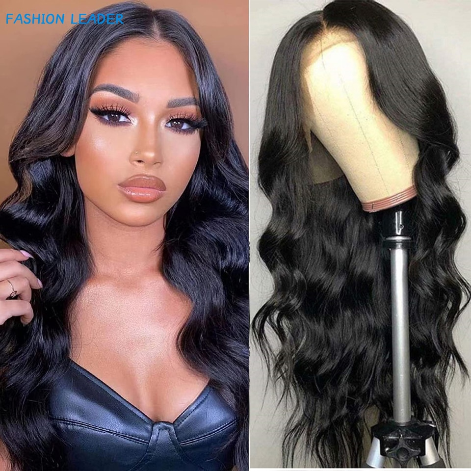Lace Front Human Hair Wigs Body Wave For Black Women 13X4 Lace Frontal Wig Brazilian Weave Lace Clos