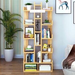 SG271546 Land Creative Bookcase Simple Modern Students Bedroom Simple Bookshelf Economy Display Cabinet Living Room Storage Rack