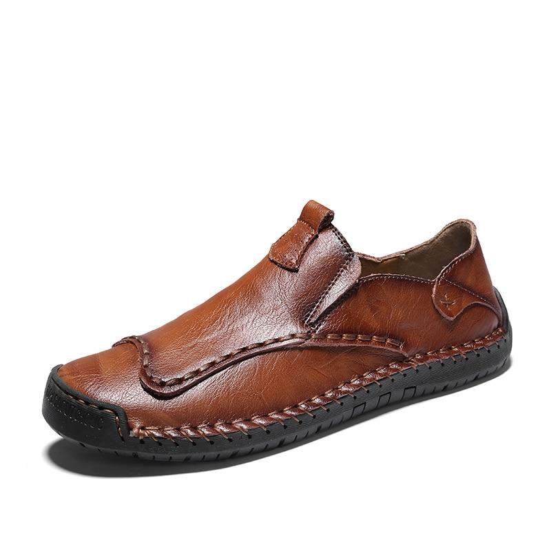 Zapatos planos de moda Zapatos de conducción concisos EUDILOVE ocio suave cómodo verano Casual mocasines zapatos para hombres clásicos * 9912