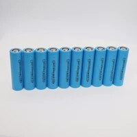 10pcs 100 new original 18650 lithium battery 2550mah icr18650 3 6v volt for rechargeable battery station power bank