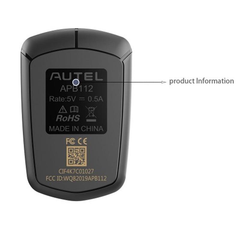 AUTEL APB112, simulador de llave inteligente, compatible con 46,4D, Chip H
