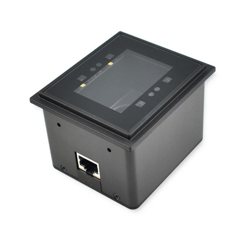 QR ماسح الباركود بوابة التحكم في الوصول الباركود الماسح الضوئي RS232 إلى يجاند