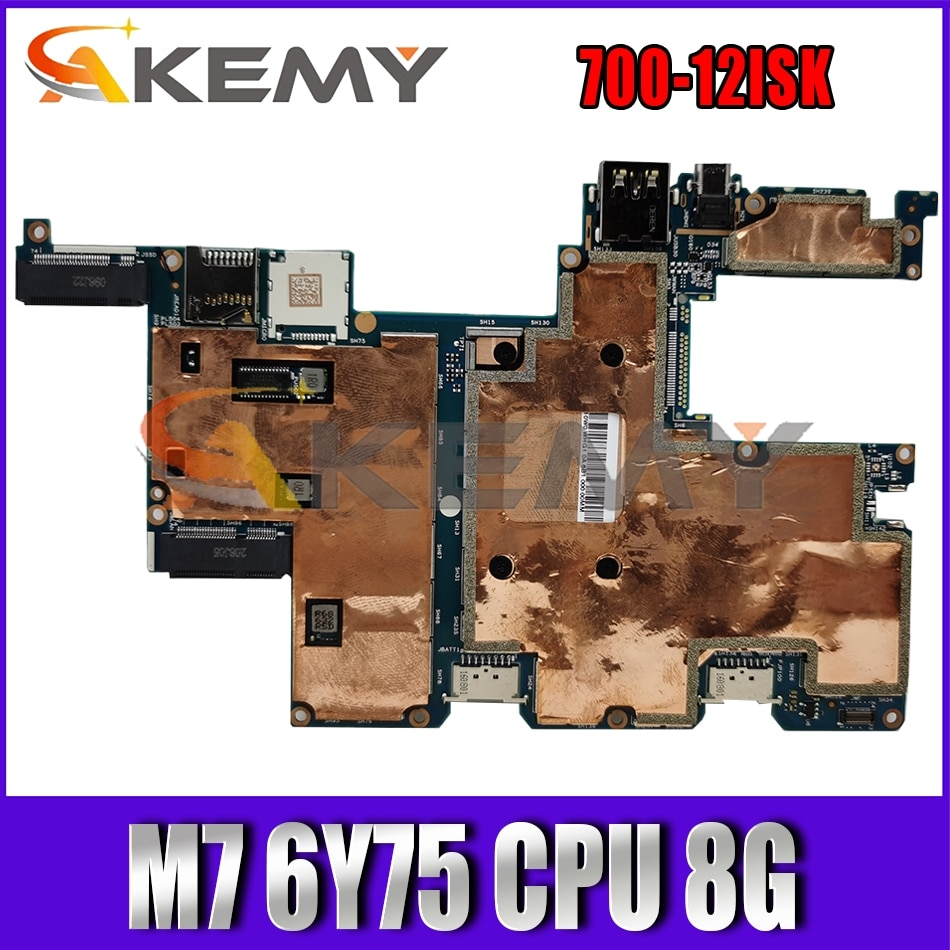 Akemy لينوفو MIIX 700-12ISK MIIX700 MIIX-700-12ISK CMX40 NM-A641 اللوحة اللوحي CPU M7 6Y75 8 جرام 100% اختبار OK