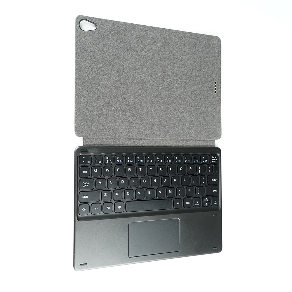 Promo CHUWI 2 in 1 Magnetic Suction Keyboard & Foldable Leather Case with Holder for  for HiPad Plus(WMC8710B) (Black)