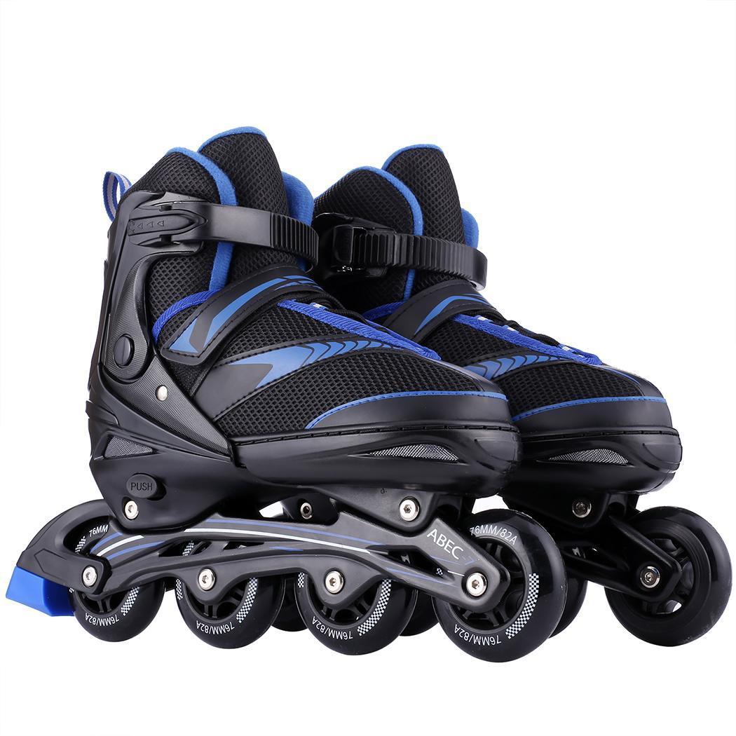 Коньки роликовые, для взрослых однорядные четыре ПУ колеса коньки обувь nline скоростные коньки обувь Хоккей роликовые коньки кроссовки роли...