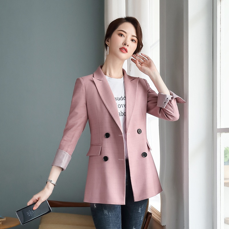 Professional women's suit 2020 Korean version of new high quality ladies office blazer Female Slim-fit jacket high quality