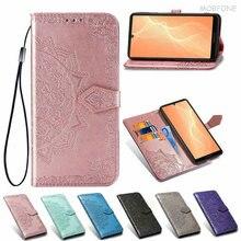 3D Mandala Skin Leather Case for Rakuten Hand Luxury Shockproof Wallet Book Flip Cover For Rakuten H