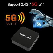 2021 Newest TV BOX 5G Network Set-top Box High Definition Player Smart TV Box WiFi Media Player Set