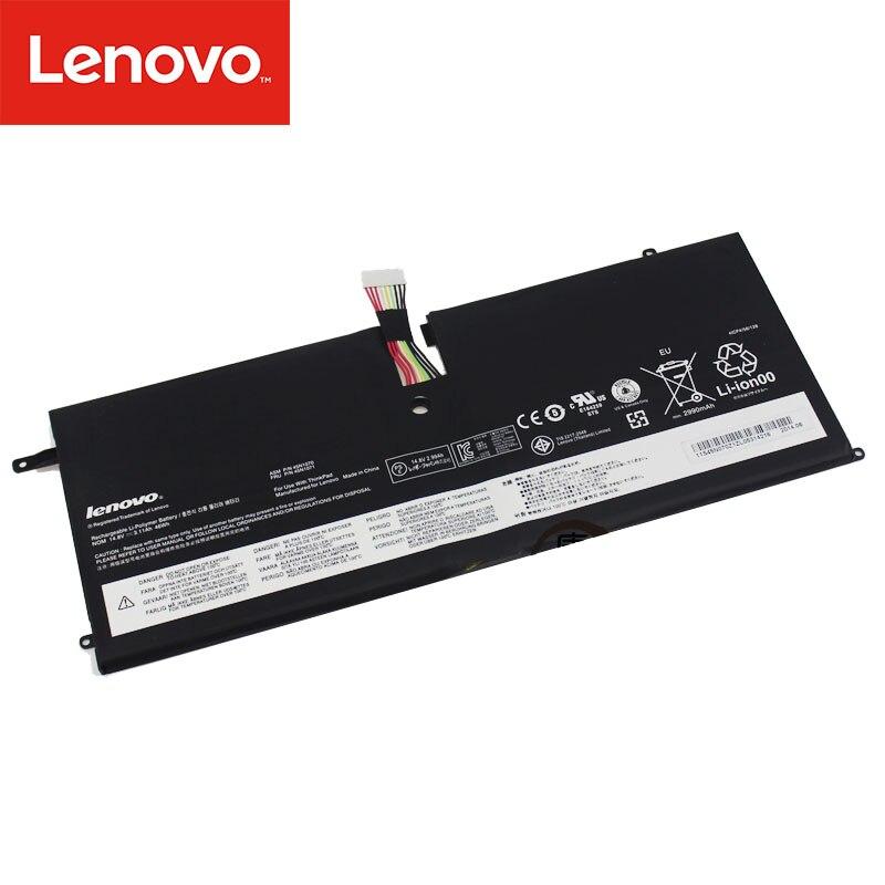 Original Laptop battery For Lenovo ThinkPad  X1 Carbon Series 3444 3448 3460 Tablet 14.8V 3.11Ah 46WH  45N1070 45N1071