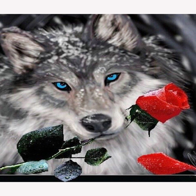 Various animal cats tiger cheetah etc. DIY 5D diamond painting mosaic cross stitch kit round mosaic rhinestone
