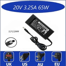 20V 3.25A 5.5*2.5mm AC Laptop Adapter Charger For Lenovo IdeaPad g530 g550 g560 Charging Device Notb