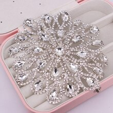Luxury Crystal Bra decorative decals rhinestone applique patch for Dress ,Hats ,Bags, Shoes DIY Glas