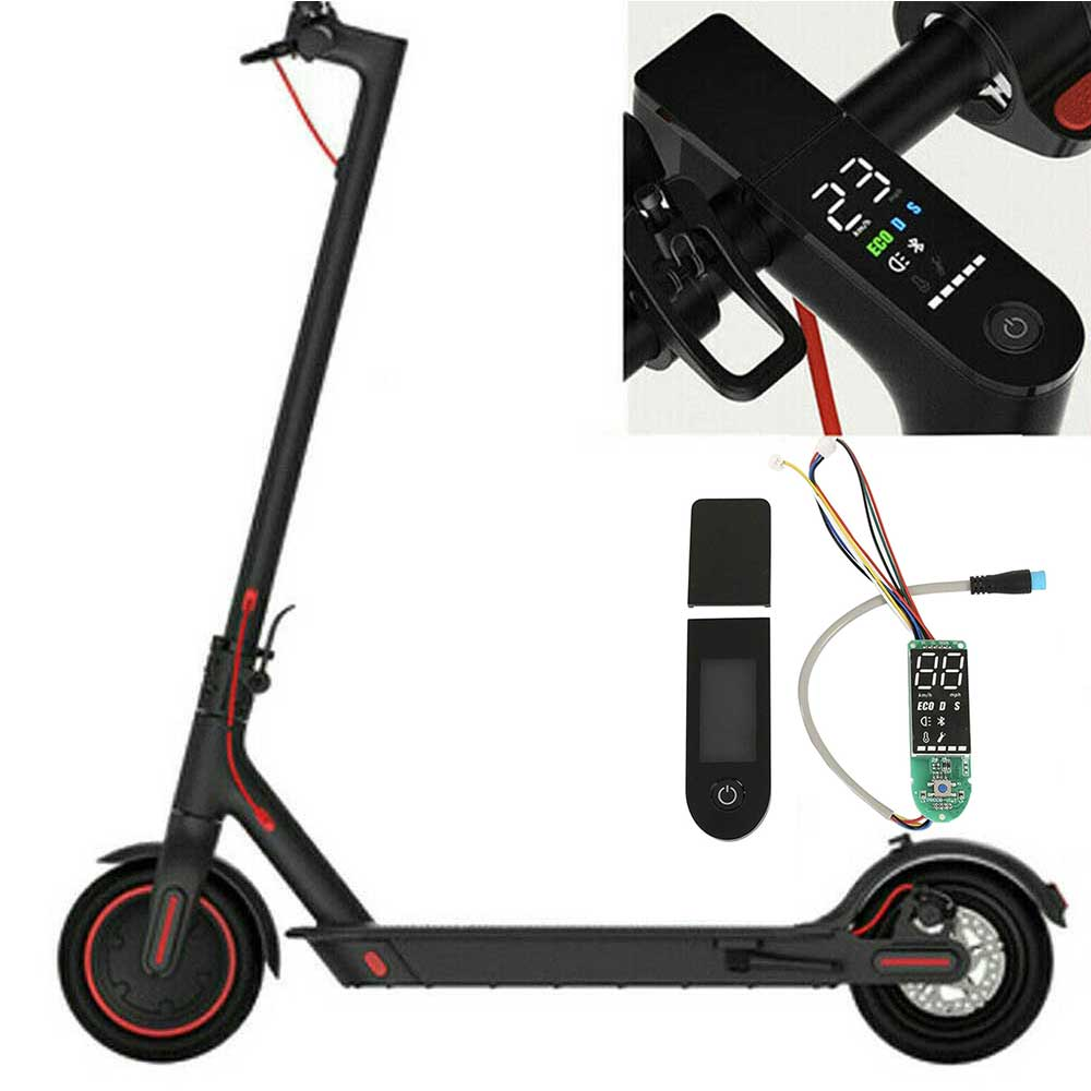 bluetooth board electric scooter and switch panel m365 upgrade circuit board instrument for xiaomi 87hf Scooter Circuit Board Set Electric Dashboard Replacement with Dashboard Cover Bluetooth Circuit Board for Xiaomi M365-Pro