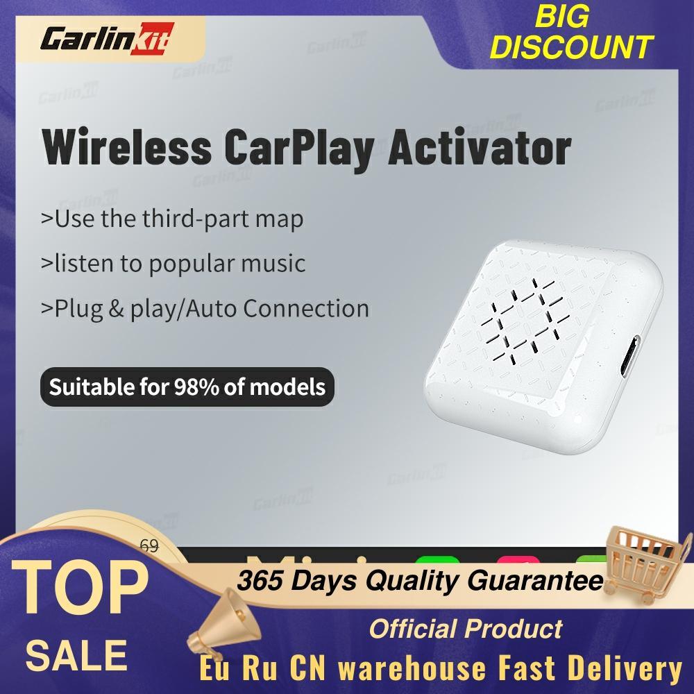 Carlinkit MINI 3.0 أبل CarPlay اللاسلكية دونغل السيارات اللعب USB محول مزامنة تطبيقات آيفون على مصنع ميديا بلاير واي فاي اتصال