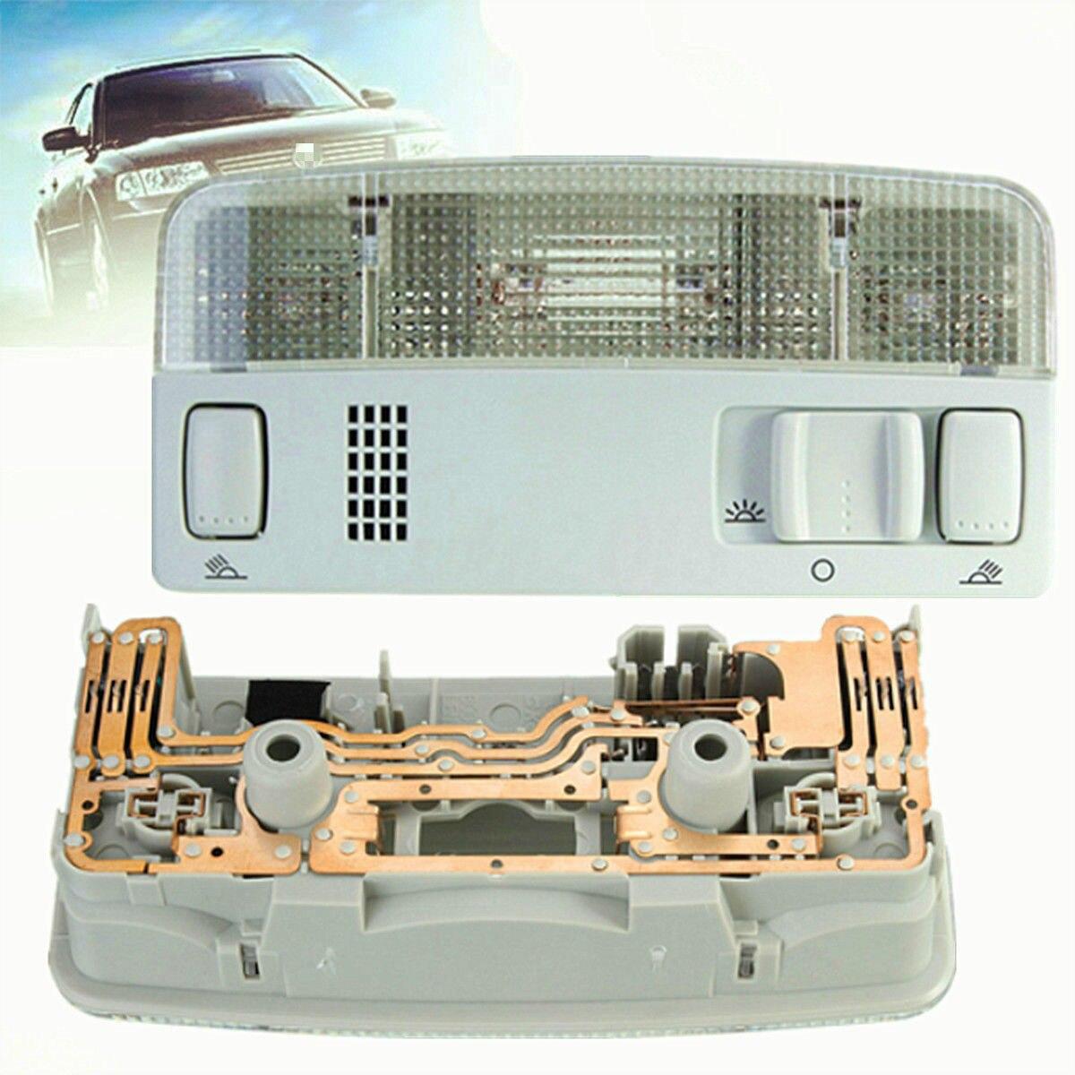 Luz de techo frontal Interior para coche, luz de lectura para autocaravana 1TD947105 para VW Transporter T5 Caddy 2K Passat Golf Mk4