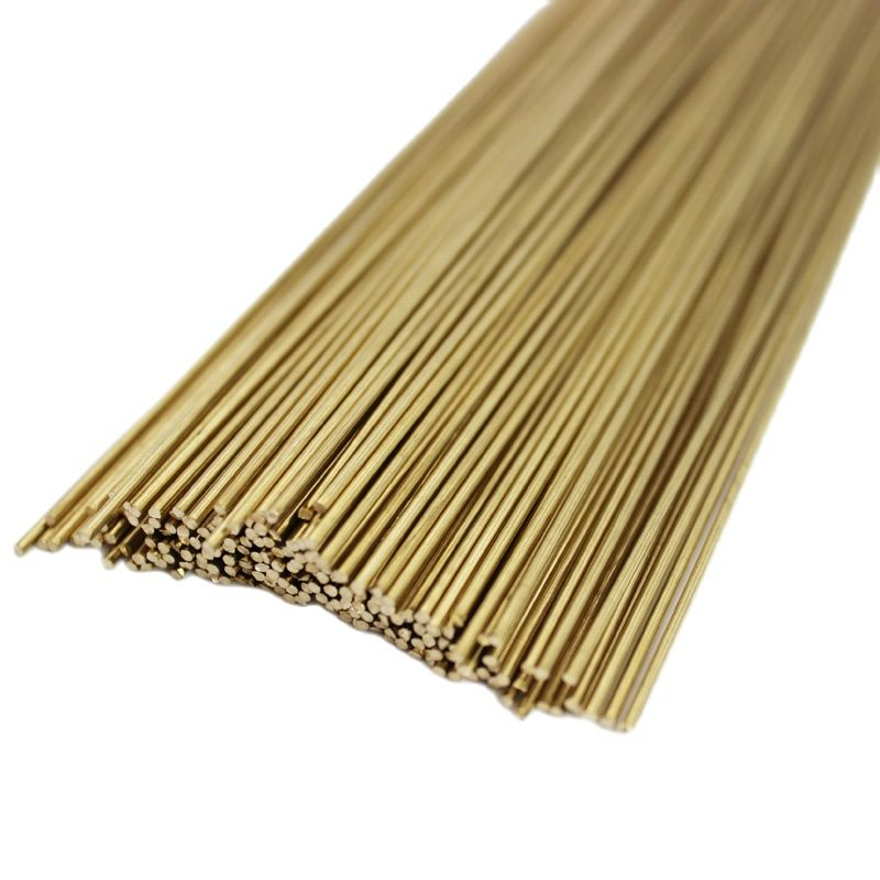5KG Brass Brazing Rods TIG Welding Wire Diameter 1.6mm/2.0mm/2.5mm/3mm/4mm Length 1m