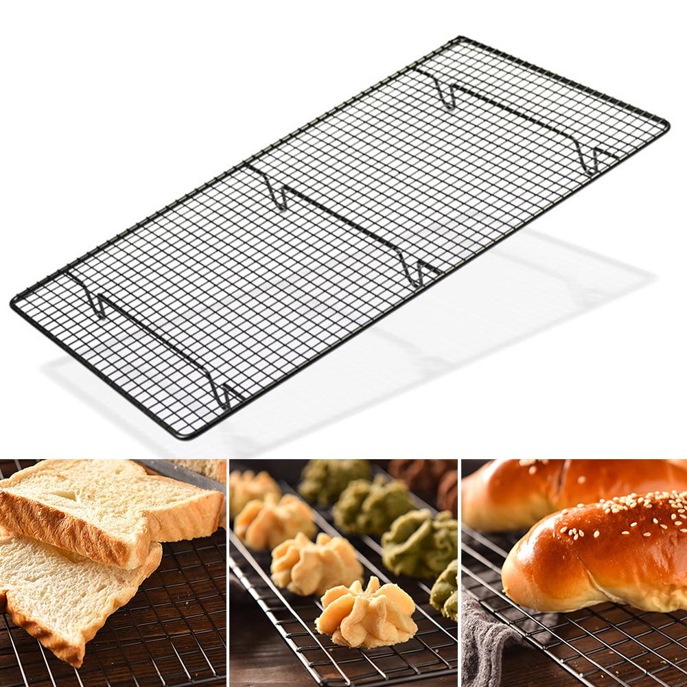 Ustensiles de cuisson porte-outil de cuisson support à gâteau support de refroidissement Biscuits à pain antiadhésif épaissir grande taille grille