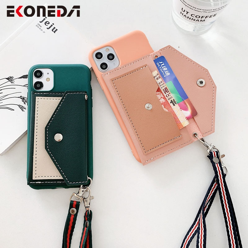 Funda EKONEDA tipo cartera para teléfono Samsung Galaxy A50 A51 A70 A71 A30 A8 S8 S9 S10 S20 Ultra Note 8 9 10 Plus