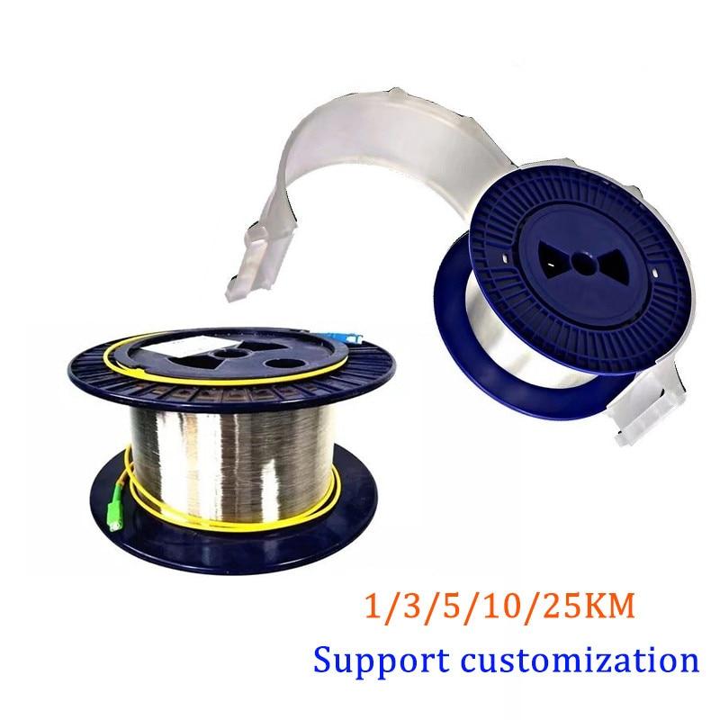Cable de fibra óptica de medición OTDR1/2/3/5KM 9/125 G652D de línea de...
