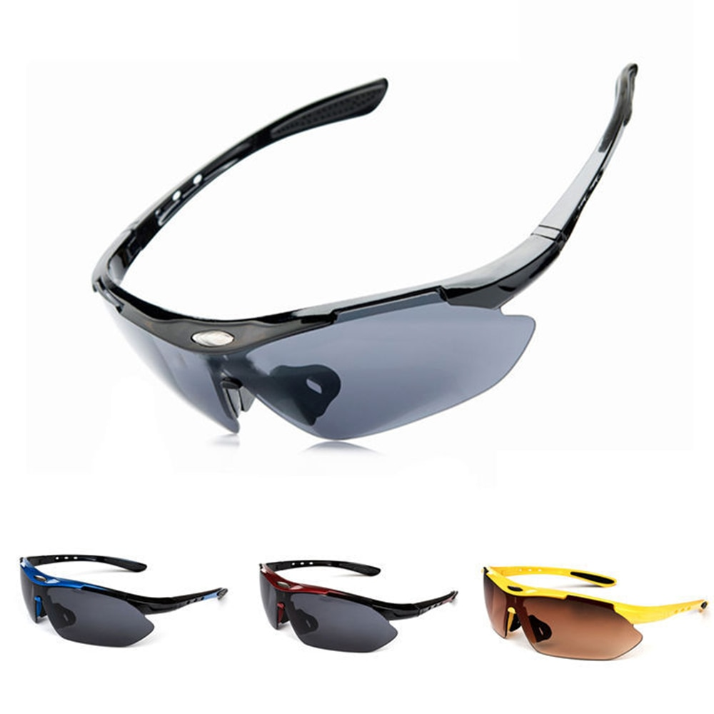 Brand Designer Outdoors Sports Cycling Bicycle Bike Riding Mens SunGlasses Eyewear Women Goggles Gla