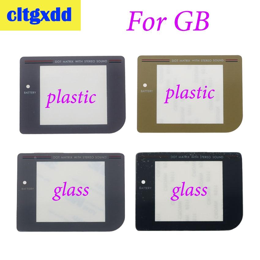 Cltgxdd Защитная пленка для экрана для nintendo Gameboy Game Boy DMG для GB Защитная пленка для экрана пластиковая стеклянная линза