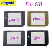 Cltgxdd couvercle dobjectif décran pour Nintendo Gameboy jeu garçon DMG pour GB écran protecteur décran lentille en plastique verre