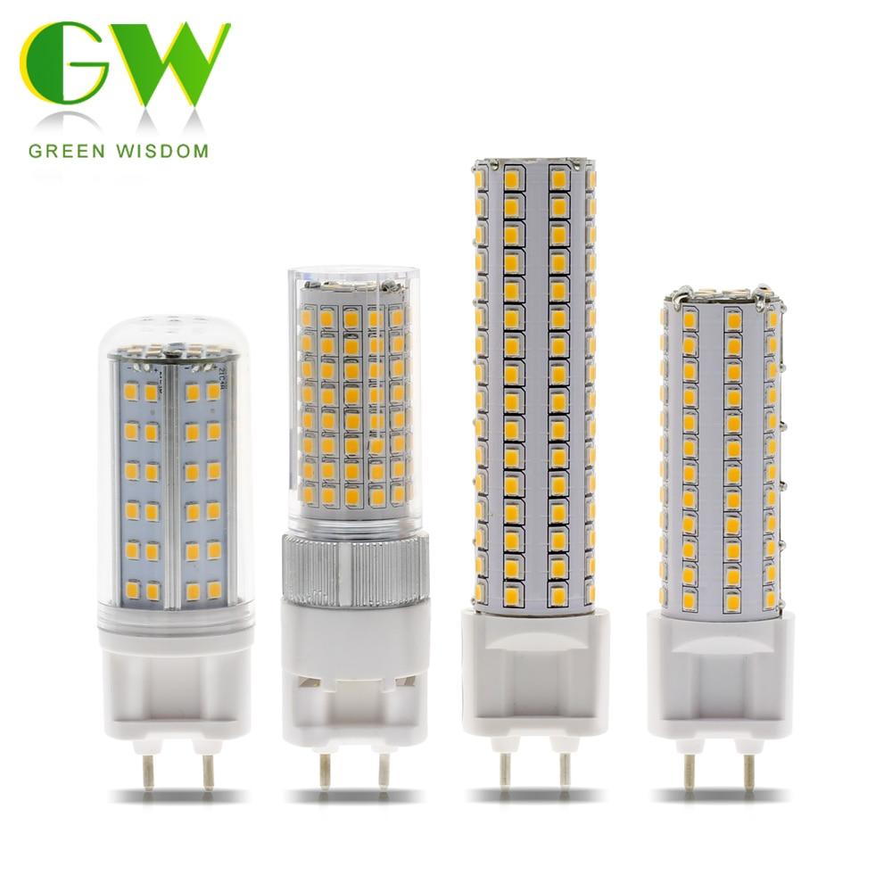 G12 LED ampoule lumière 110V 220V 10W 12W 15W SMD2835 haute luminosité LED ampoule de maïs économie dénergie remplacer les lumières pour léclairage à la maison