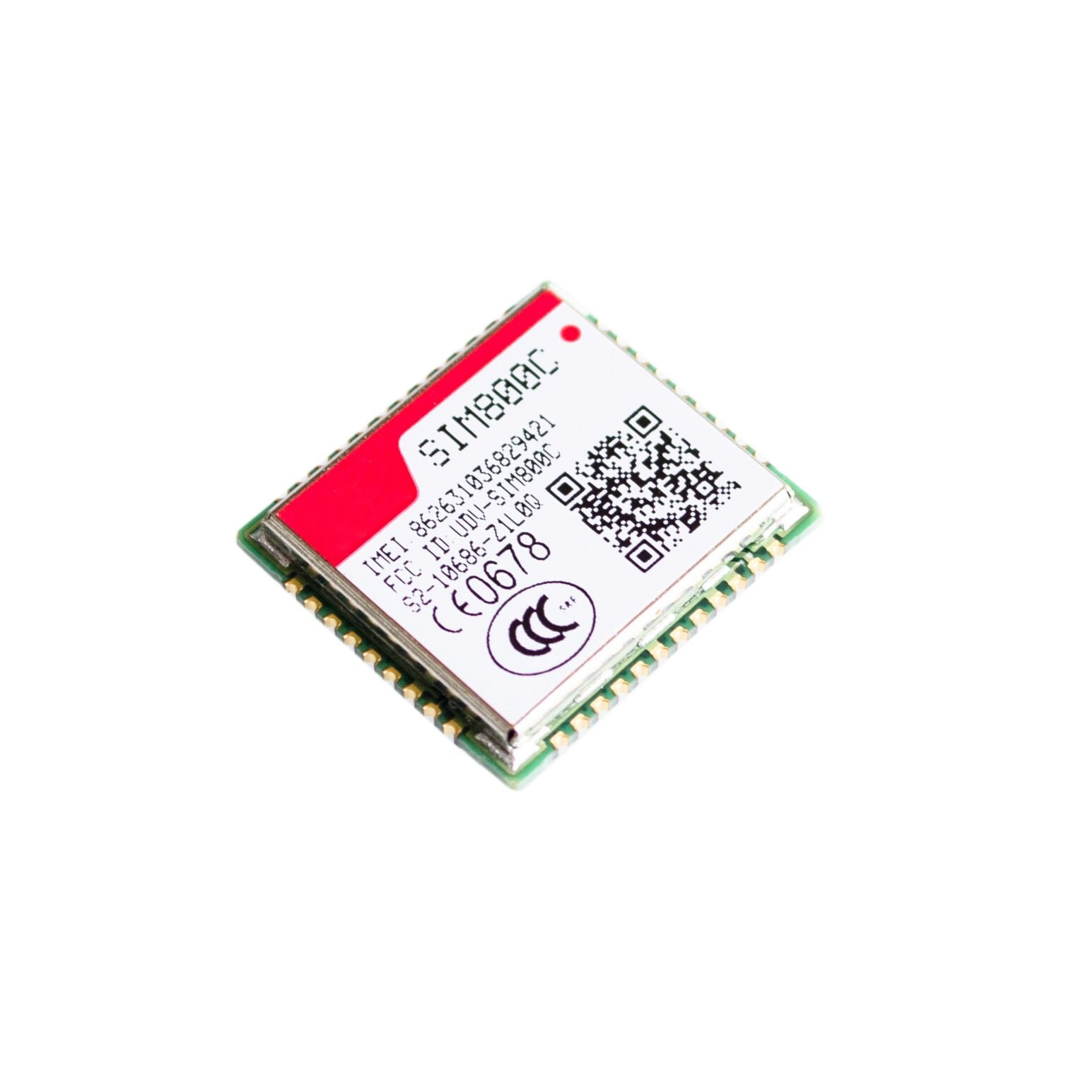 Фото - SIM800C/900/5320E/868/ SIMCOM GSM/GPRS With small size in LCC interface and play high performance small beginnings say and play