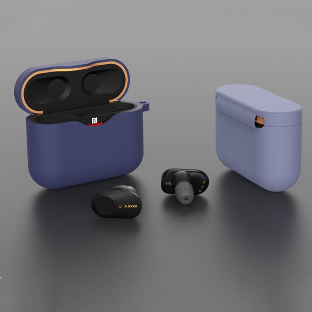 Funda de silicona, accesorios para auriculares, gancho de Antipérdida SONY XM3 para WF-1000XM3 caja de carga