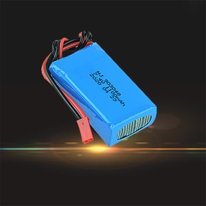 2S 7.4V 1100mah Lipo Battery JST Plug Connector for Wltoys A949 A959 A969 353 Mini RC Drone Quadcopter Car Spare Parts