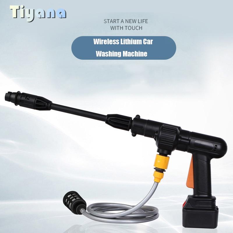 Portable Garden Water Gun Spray Sprinkler High Pressure Power Water Gun Car Washer Jet Garden Washer Nozzle Foam Washer Tools 6
