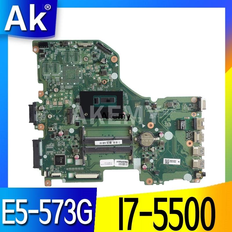 DAZAAMB16E0 ZAAA ZAAX32 NBGD311009 NBGD311005 NBYDA11006 I7-5500U placa madre para Acer Aspire E5-774G E5-575G E5-575TG F5-573G