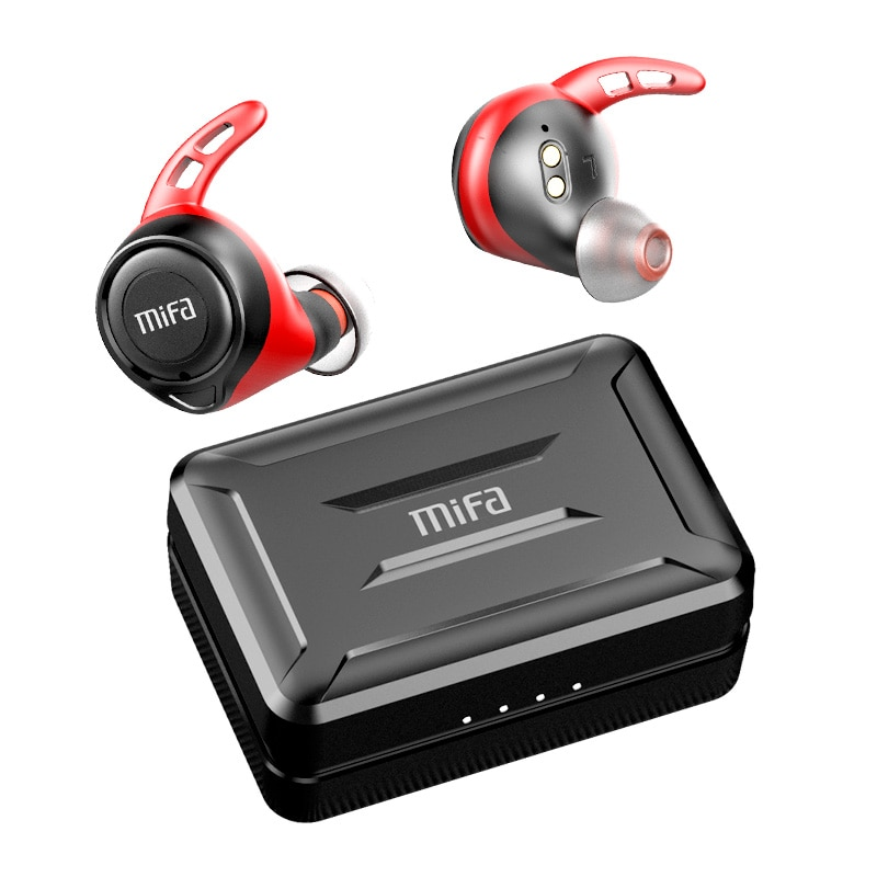 Mifa X11 TWS Ture سماعات لاسلكية apt-X بلوتوث 5.0 سماعة IPX7 مقاوم للماء CVC 8.0 الحد من الضوضاء 100H وقت اللعب