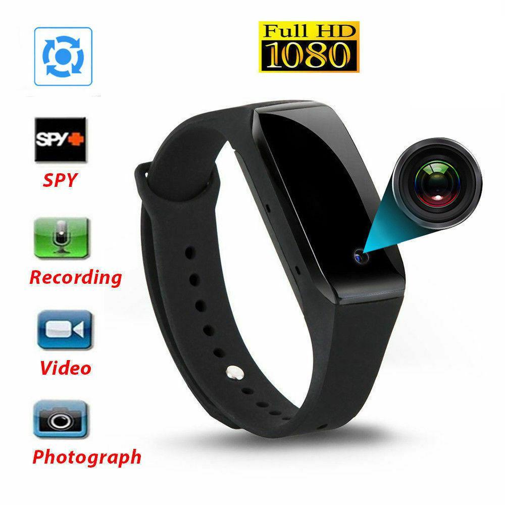 1080P Bracelet Smart Watch Wristband With Camera DVR Video Recorder Hot Fashion Unisex Smart Watch Free Shipping
